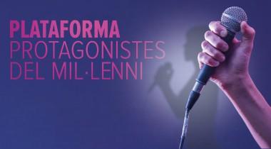 plataforma protagonistes del mil·leni onyric teatre condal barcelona