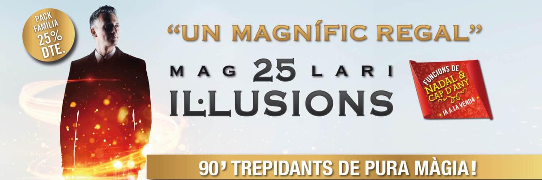 25 il·lusions ONYRIC Teatre Condal