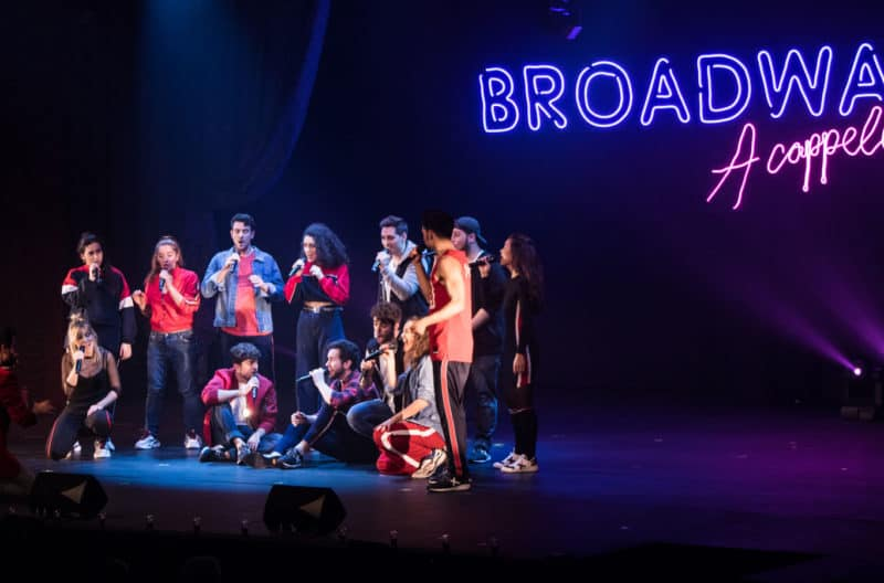 broadway a cappella onyric teatre condal barcelona