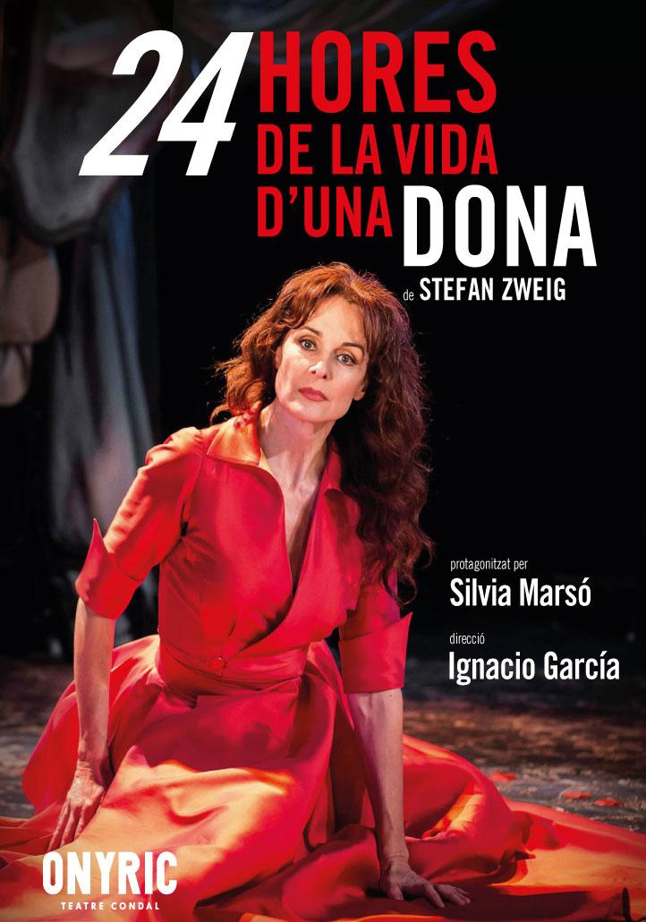 24 hores de la vida d'una dona teatre condal barelona