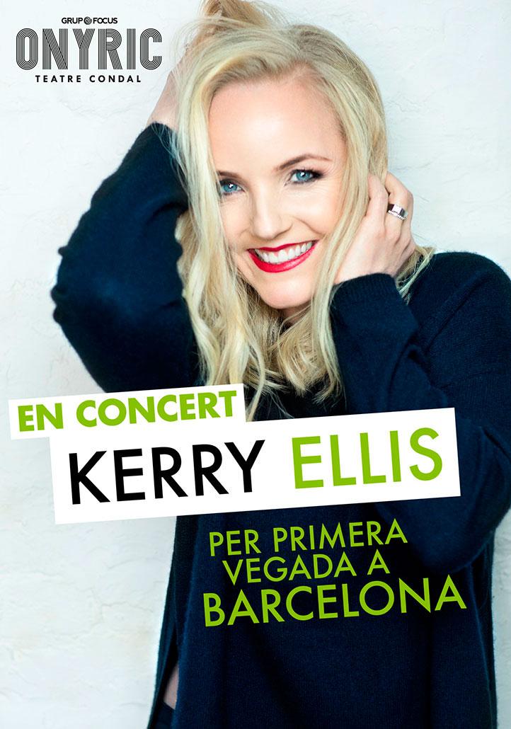 Kerry Ellis concert onyric teatre condal barcelona