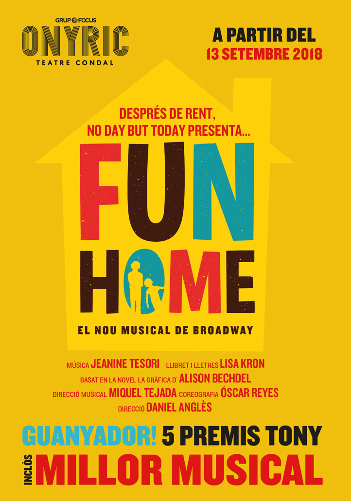 Fun Home musical onyric teatre condal