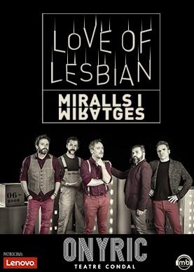love of lesbiam miralls i miratges onyric teatre condal barcelona