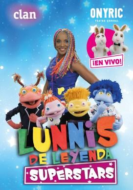 lunnis de leyenda superstars en vivo onyric teatre condal barcelona
