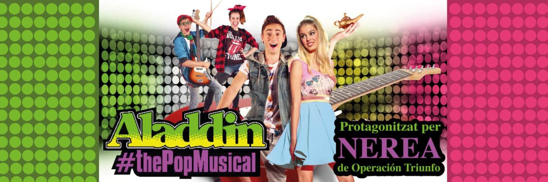aladdin the pop musical onyric teatre condal