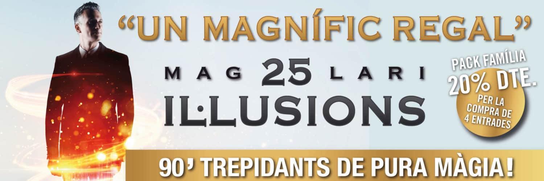 25 il·lusions ONYRIC Teatre Condal Barcelona